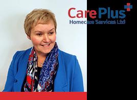 Care Plus Ltd Team Member Kay Brandrick