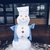 The Care Plus snowman