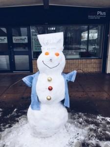 The Care Plus snowman